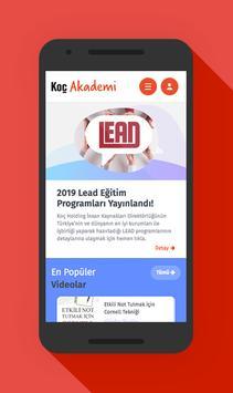 Koç Akademi poster