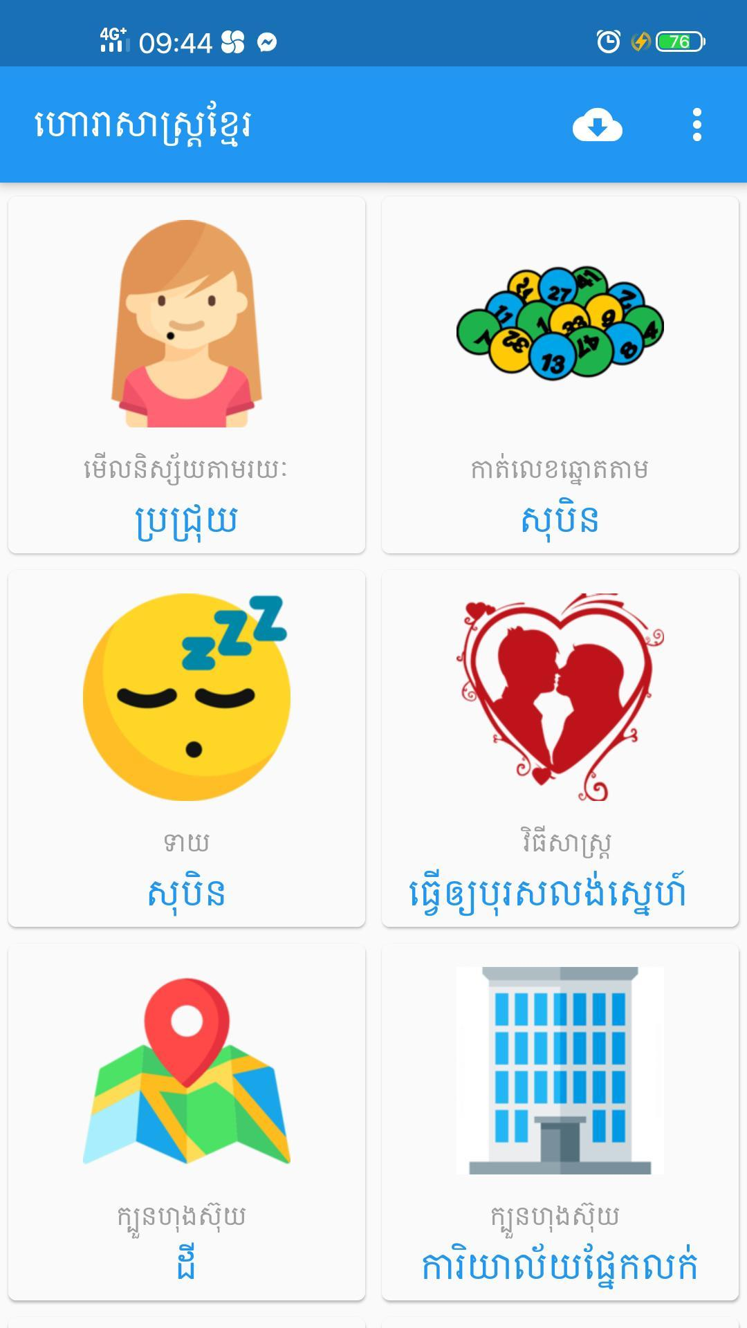 Cambodian Horoscope