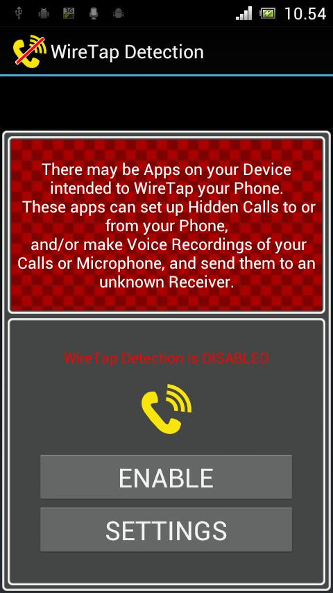 WireTap Detection (Anti Spy) for Android - APK Download
