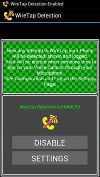 WireTap Detection (Anti Spy) screenshot 1