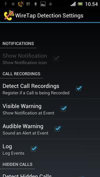 WireTap Detection (Anti Spy) screenshot 2