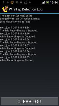 WireTap Detection (Anti Spy) screenshot 4