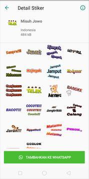 Stiker WA Javanese poster