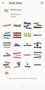 Stiker WA Javanese screenshot 1