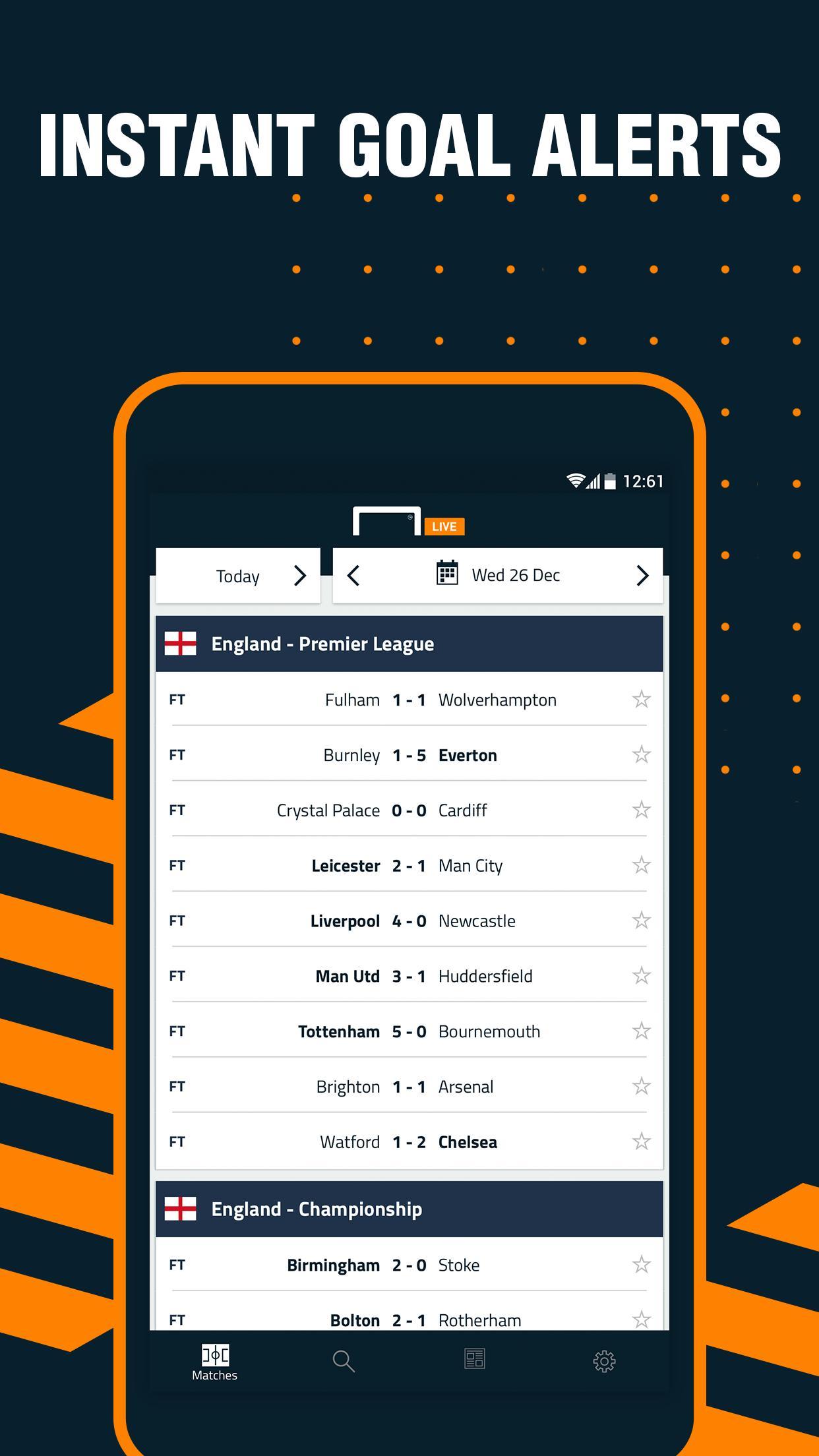 Goal Live screenshot 1
