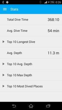 Dive! Log! screenshot 5