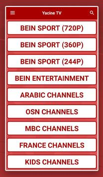 YACINE TV SPORT LIVE FREE - GUIDE screenshot 3