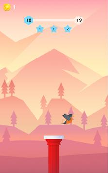 Bouncy Bird: Casual & Relaxing Flappy Style Game poster