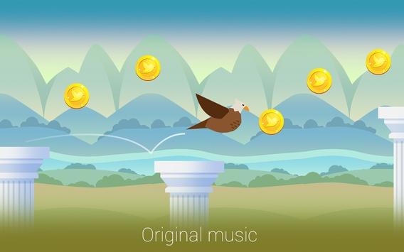 Bouncy Bird: Casual & Relaxing Flappy Style Game screenshot 13