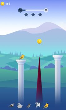 Bouncy Bird: Casual & Relaxing Flappy Style Game screenshot 16