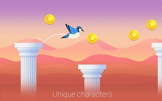 Bouncy Bird: Casual & Relaxing Flappy Style Game screenshot 19