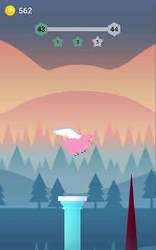 Bouncy Bird: Casual & Relaxing Flappy Style Game screenshot 2