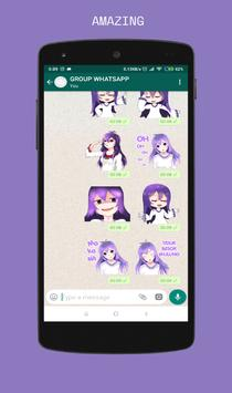 WAStickerApps Kolosmik Girls (Whatsapp sticker) poster