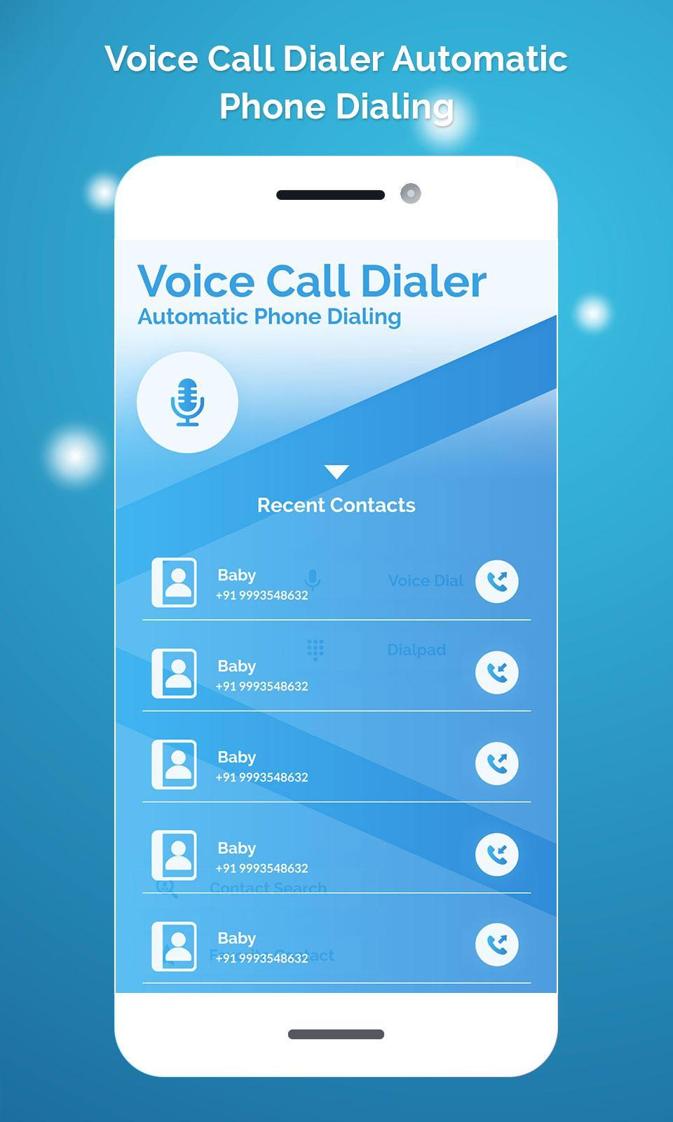 Voice Call Dialer Automatic Phone Dialing for Android - APK
