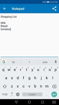 Memo - free notepad app screenshot 1