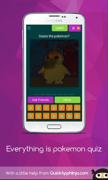 Everything is pokemon quiz screenshot 5