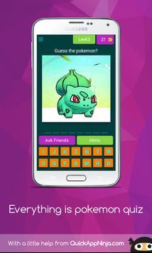 Everything is pokemon quiz screenshot 3