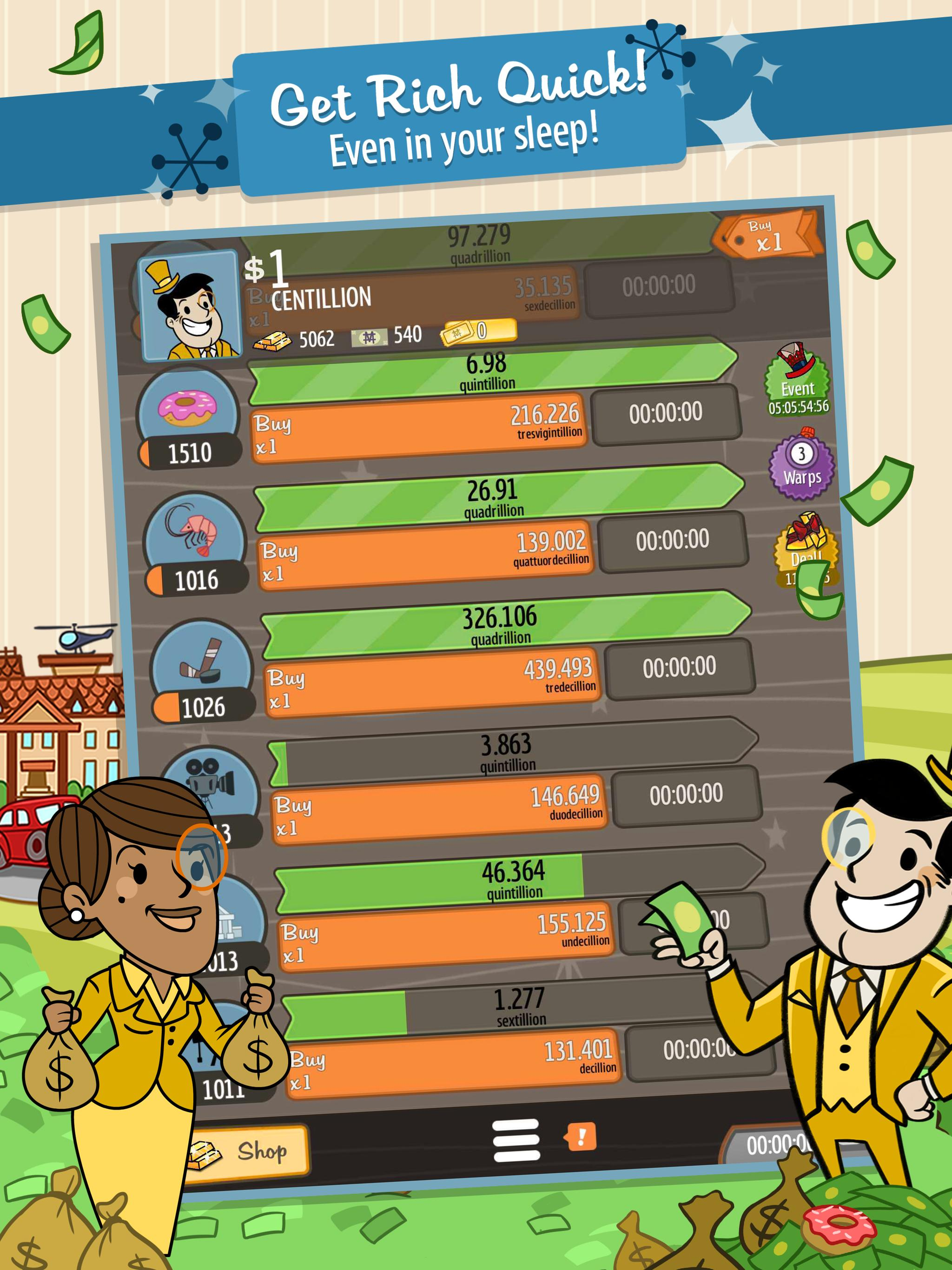 adventure capitalist hacked apk 6.3.5