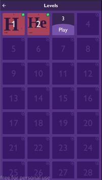 Periodic table - quiz screenshot 7
