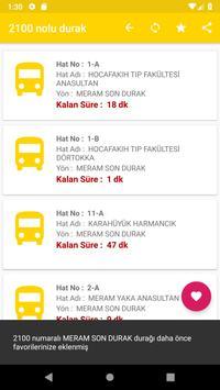 Otobüsüm Nerede - Konya screenshot 4
