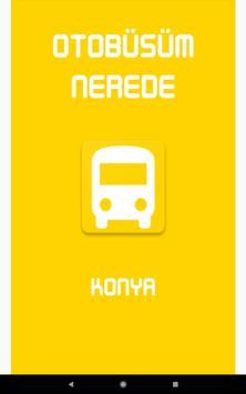 Otobüsüm Nerede - Konya screenshot 13