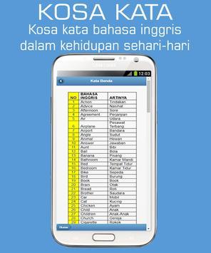 1001 Kosakata Bahasa Inggris screenshot 2