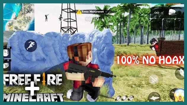 Mod free fire for MCPE Poster