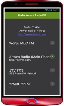 Radio Korea Live screenshot 1
