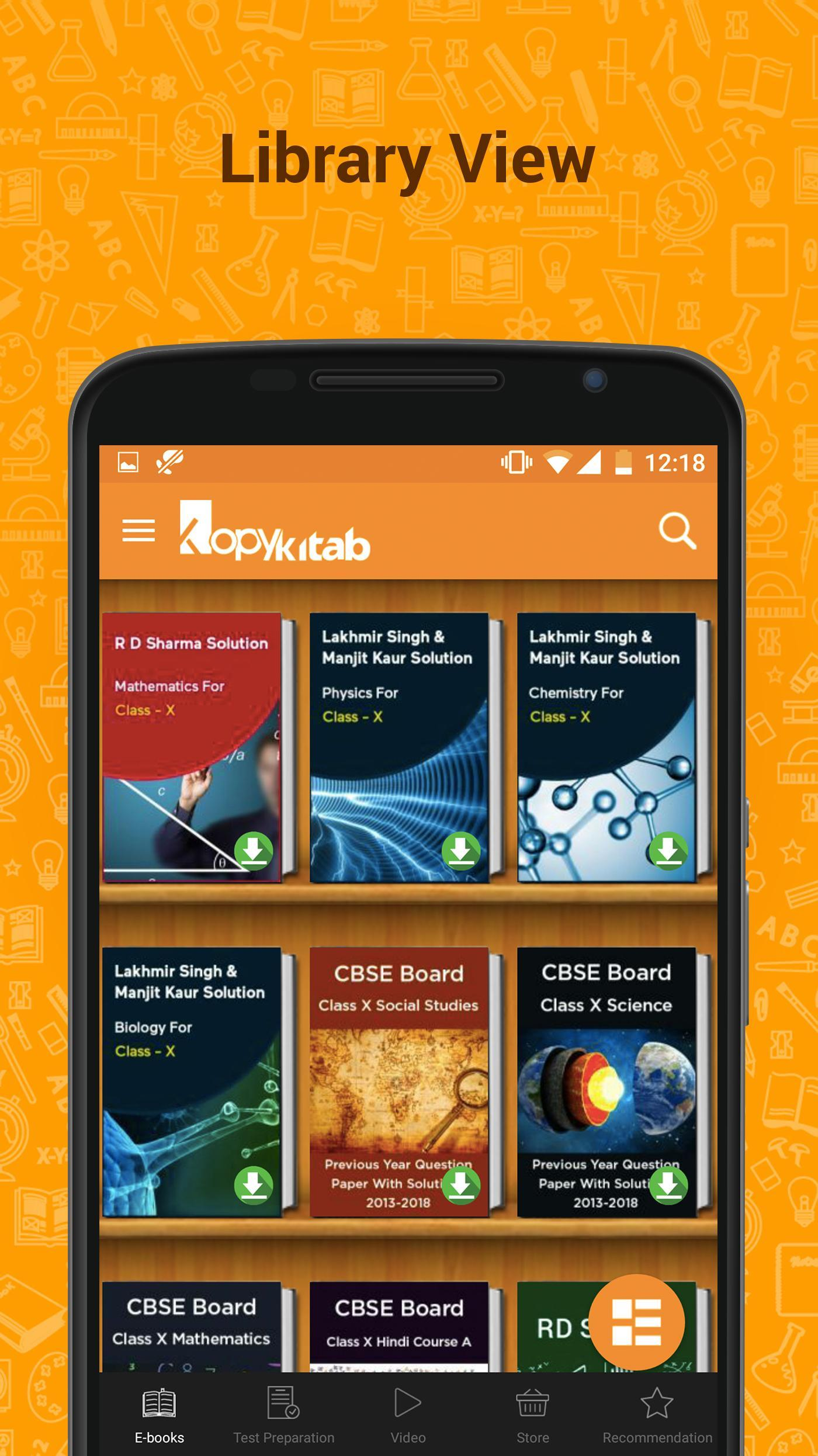 CBSE Class 10 Books, Questions & NCERT Solutions for Android