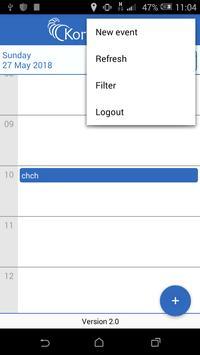 Kornukopia Calendar screenshot 1