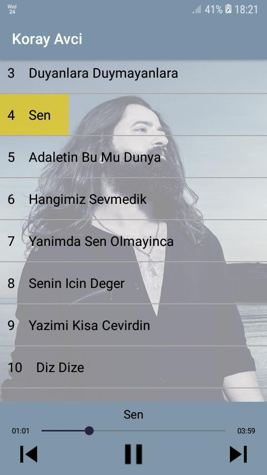 Koray Avcı Best Hits - Without Internet for Android - APK Download