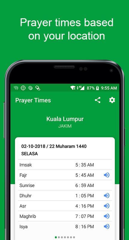 Кибла компас время молитвы намаза азан и тасбих для андроид.