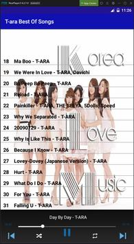 T-ara Best Of Songs screenshot 5