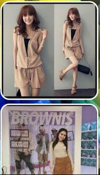 the latest Korean fashion style poster