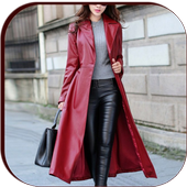 Korean Long Coat For Women icon