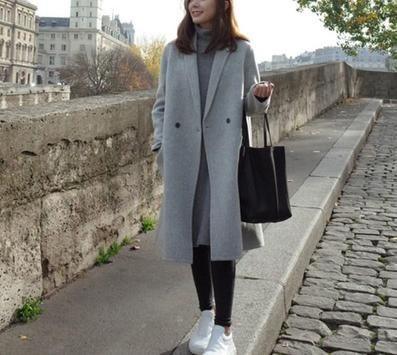 Korean Long Coat For Women screenshot 10