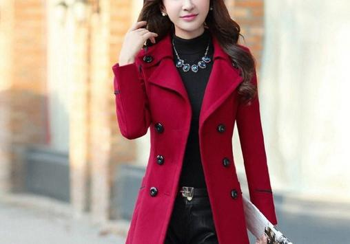 Korean Long Coat For Women screenshot 7