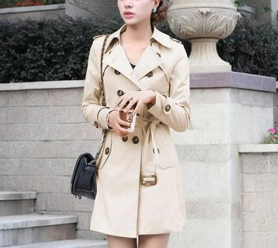 Korean Long Coat For Women screenshot 4