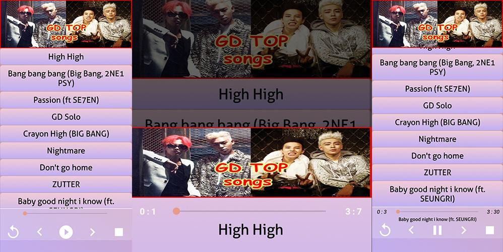 GD & TOP - songs, offline kpop Songs 2019 for Android - APK Download
