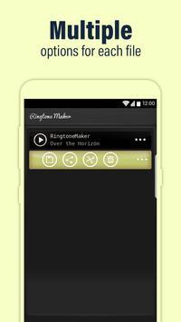 Call Ringtone Maker – MP3 & Music Cutter imagem de tela 3