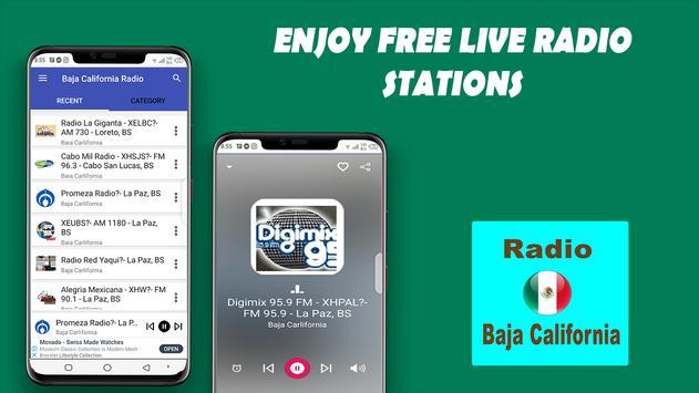 Radio de Baja California poster