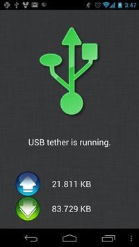 ClockworkMod Tether (no root) captura de pantalla 1