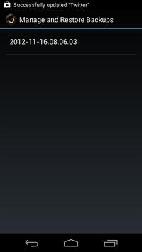 ROM Manager Screenshot 6