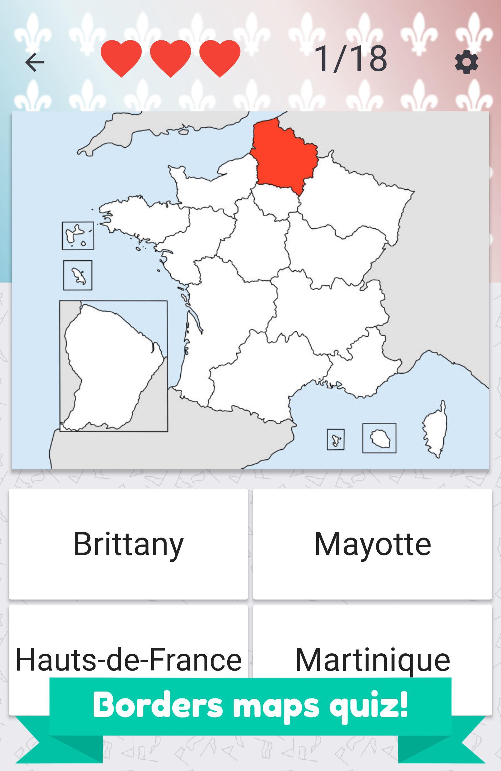 Regions De France Drapeaux Et Cartes Pour Android Telechargez L Apk