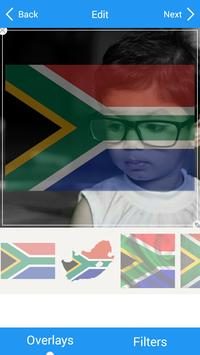 Selfie with South Africa flag screenshot 3
