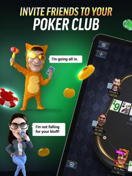PokerBROS: Play Texas Holdem Online with Friends 스크린샷 6