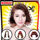 Kpop Frisuren Fotoeditor Koreanischer Friseur Für Android