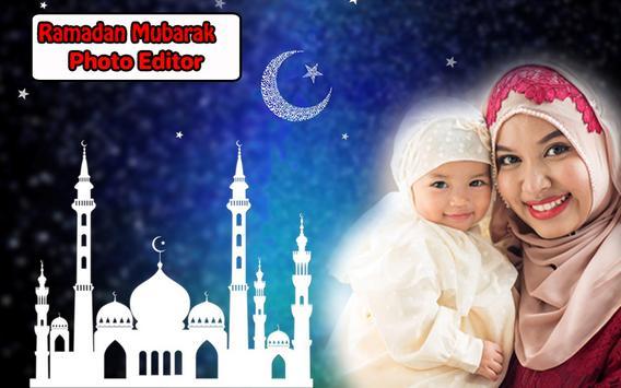Ramadan Mubarak Photo Frames poster