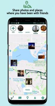 Location Tracker - MyLoc :  Track friends & family poster