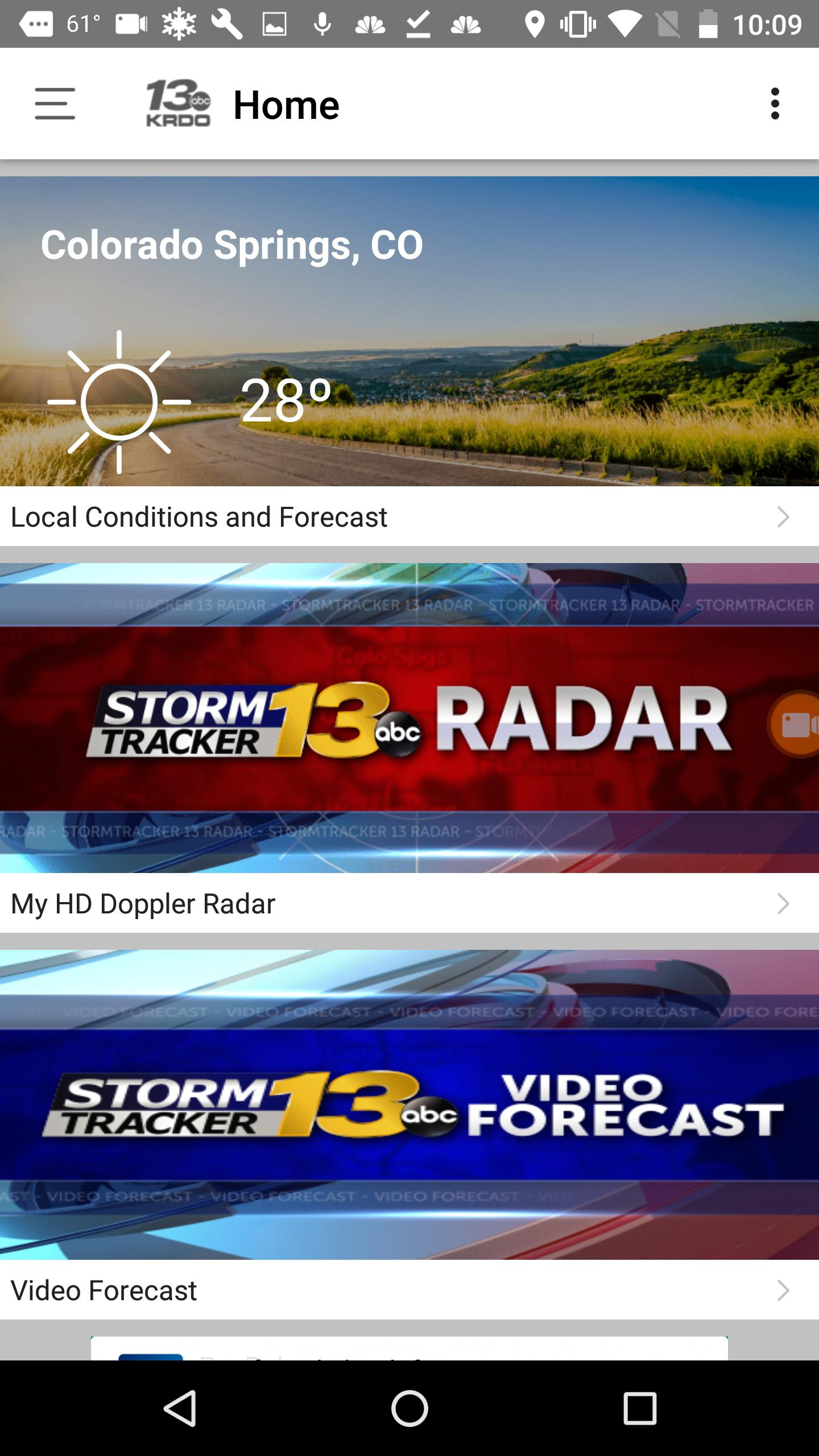 KRDO StormTracker 13 Weather for Android - APK Download